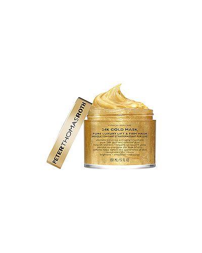 Кожаная маска для ног омолаживающая золотая Peter Thomas Roth