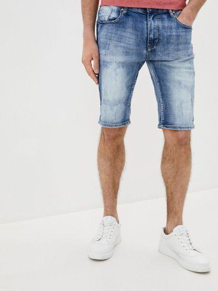 Синие джинсовые шорты из овчины Terance Kole