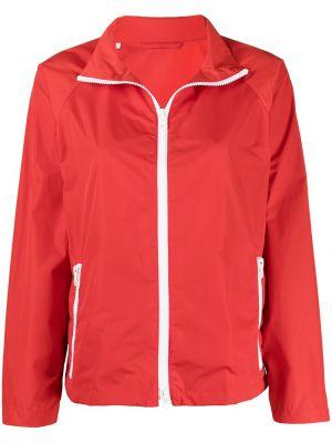 Нейлоновая красная короткая куртка на молнии Mackintosh