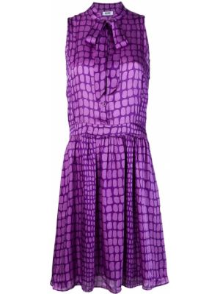 Платье с поясом винтажная на пуговицах Moschino Pre-owned