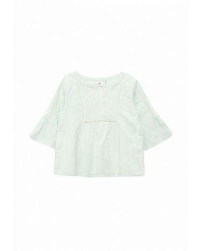 Бирюзовая рубашка Gap