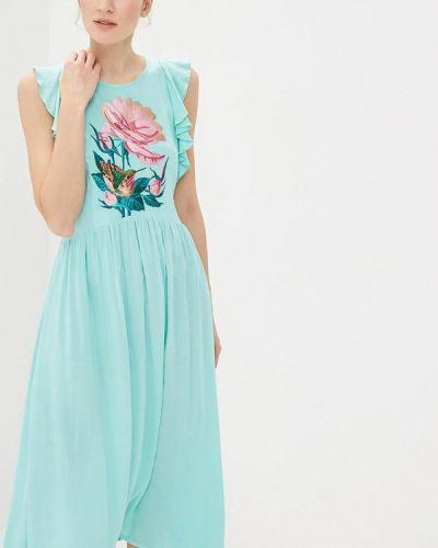 Платье прямое весеннее Indiano Natural