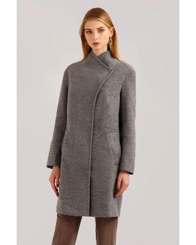 Пальто шерстяное пальто Finn Flare