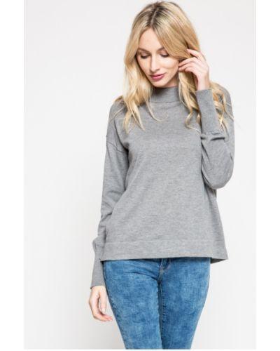 Sweter z wzorem jasny szary Vero Moda