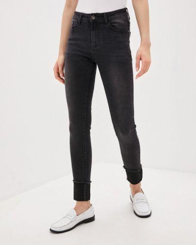 Серые джинсы-скинни узкого кроя Adrixx