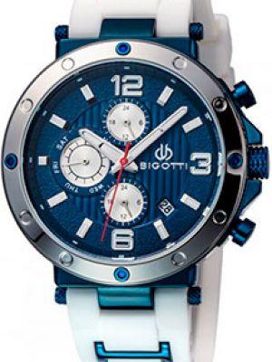 Белые силиконовые часы Bigotti