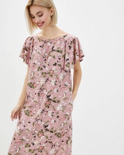 Повседневное розовое платье Vergans