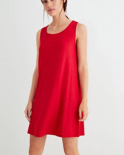 Прямое красное платье Women'secret