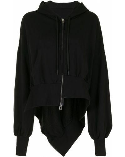Черная куртка с капюшоном на молнии Yohji Yamamoto
