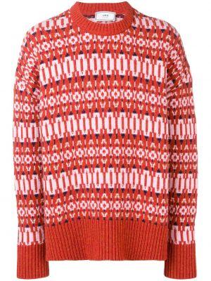 Оранжевый свитер свободного кроя Ami Paris