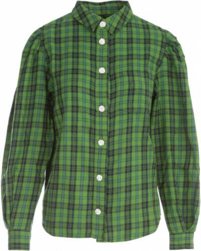 Zielona koszula Essentiel Antwerp