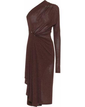 Sukienka midi ciepły sukienka z sukienką Dodo Bar Or