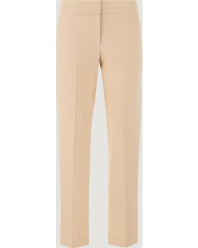 Бежевые брюки Marella