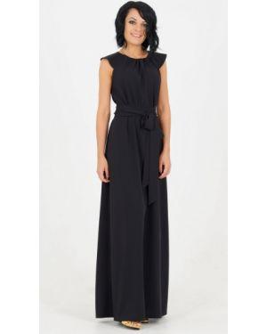 Платье с поясом на пуговицах со складками Ajour