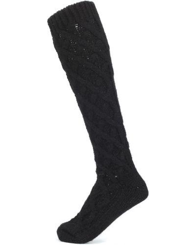 Czarne skarpety wełniane Dolce And Gabbana