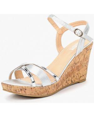 Босоножки на каблуке кожаные Max Shoes