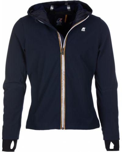 Niebieski płaszcz K-way