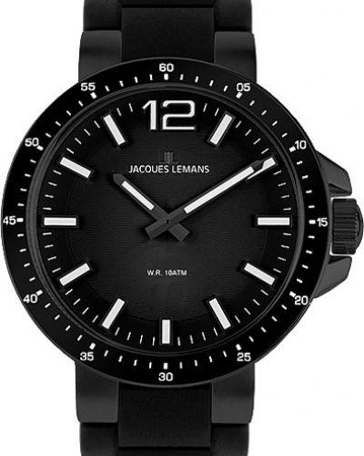 Кварцевые часы водонепроницаемые с подсветкой Jacques Lemans