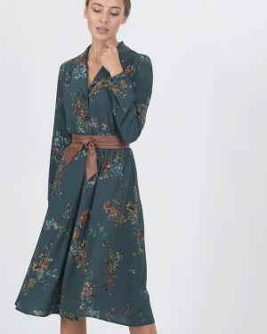 Повседневное платье осеннее зеленый Raimaxx