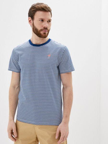 Синяя футболка Selected Homme