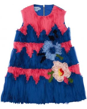 Сатиновое платье с декольте Mimisol