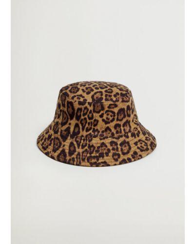 Brązowy kapelusz Mango
