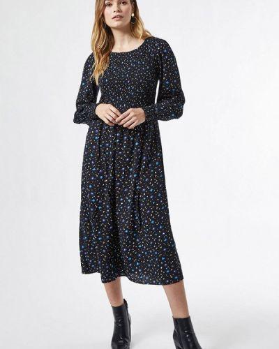 Прямое черное платье Dorothy Perkins