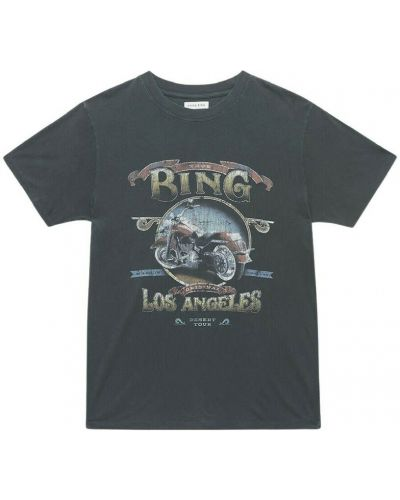 Szara t-shirt Anine Bing