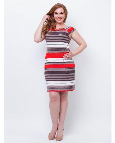 Трикотажное платье в полоску Modniy Oazis