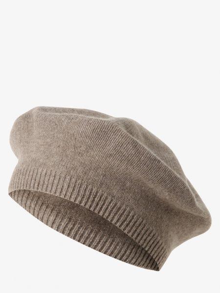 Beżowa z kaszmiru czapka Apriori