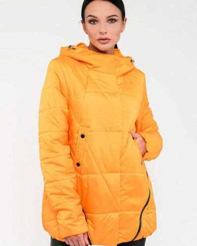 Утепленная куртка - желтая Modniy Oazis