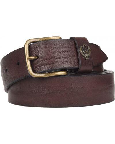 Кожаный ремень - коричневый Frankie Morello