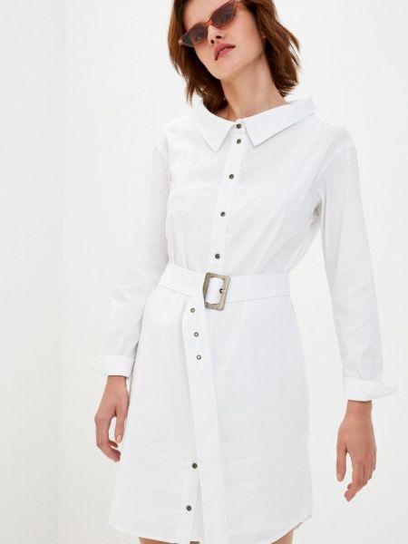 Белое платье Laroom