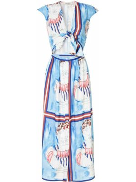 Платье миди на молнии Tata Naka