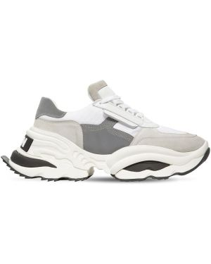 Кожаные кроссовки замшевые походные Dsquared2