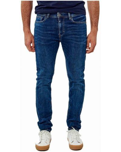 Niebieskie mom jeans Kaporal