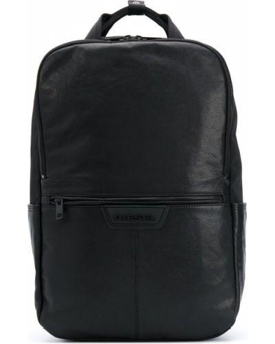 Черный рюкзак с карманами на молнии Diesel