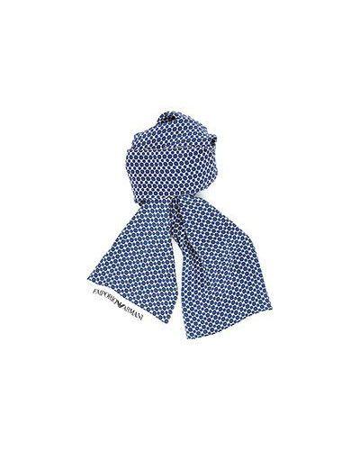 Белый шарф Emporio Armani