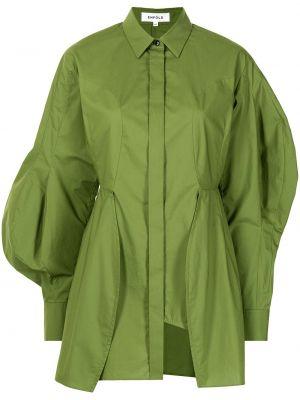 Koszula asymetryczna - zielona Enfold