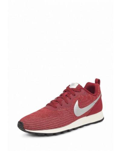 Красные кроссовки низкие Nike
