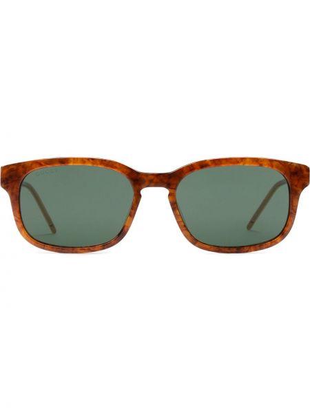 Brązowe okulary Gucci Eyewear