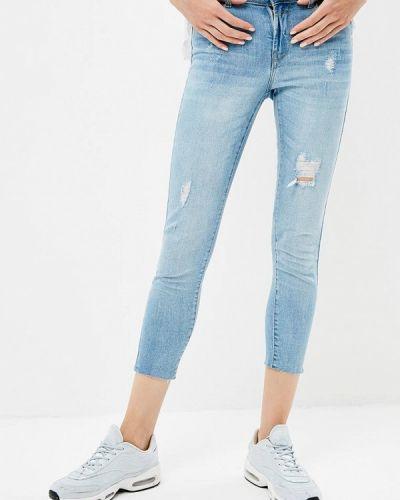 Голубые джинсы-скинни Jennyfer
