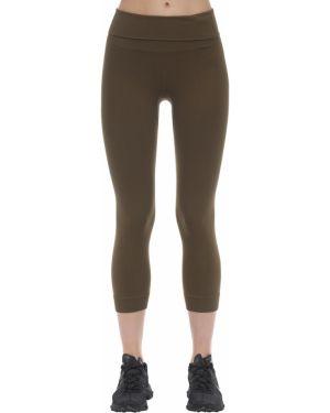 Szerokie spodnie na gumce z kieszeniami Falke