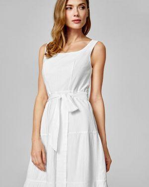 Платье с поясом платье-сарафан индийский Ostin
