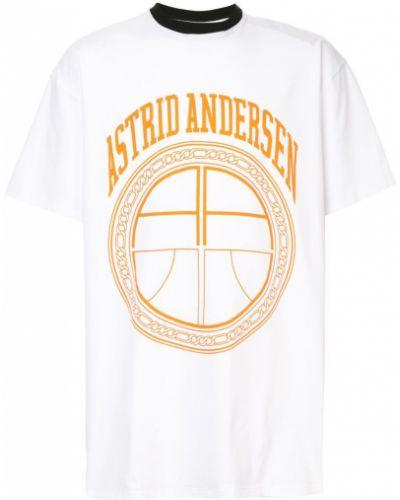 Классическая футболка оверсайз Astrid Andersen