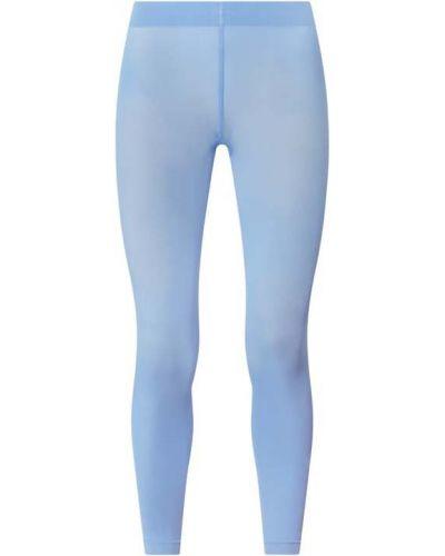 Niebieskie legginsy Falke