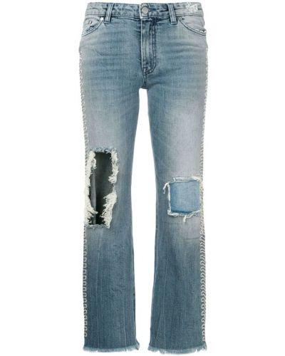 Расклешенные джинсы на пуговицах Alchemist