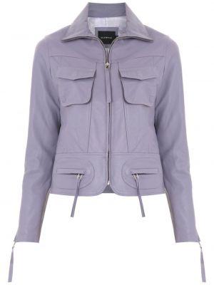Длинная куртка - фиолетовая Olympiah