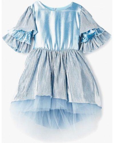 Голубое платье на торжество Shened