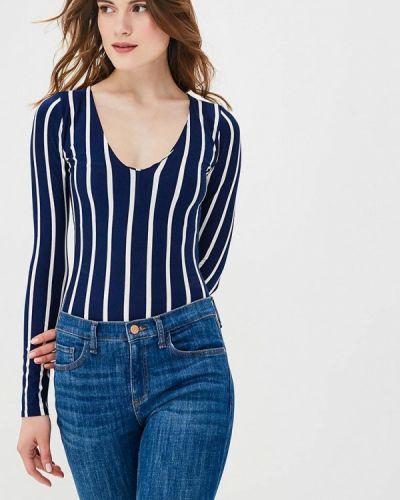 Синее боди блуза Lozana Paris